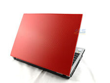 "CHEAP RED Toshiba Satellite Pro 12.1"" Laptop - Core Duo 2GB RAM WiFi Windows 7"