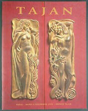 CATALOGUE VENTE ENCHERES - TAJAN - ARTS DECORATIFS DU XX° Despres Daum Besnard..