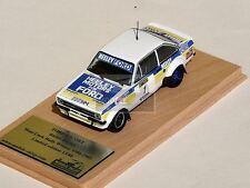 RICHIE HEELLEY FORD ESCORT MK2 RALLY CORK WINNER 1984-1985 IRISH TARMAC RALLY
