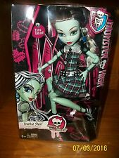 Monster High Frightfully Tall Ghouls Frankie Stein 17 inch doll by Mattel NIB