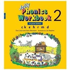 Jolly Phonics Workbook 2 (US Print Letters) : Ck,e,h,r,m,d by Sue Lloyd...