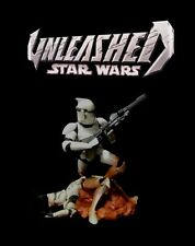 Star Wars Unleashed: Episode II Attack of the Clones CLONE TROOPER Movie Figure