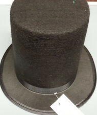 ABE ABRAHAM LINCOLN BLACK TOP HAT CIVIL WAR MEDIUM 56CM