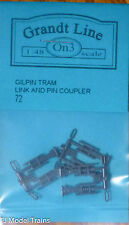 Grandt Line On3 #72 Gilpin Tram Link & Pin Couplers (On3 Scale)