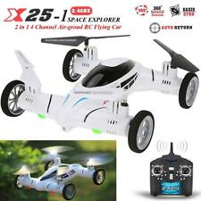 2 in 1 Remote Control SY X25-1 2.4G Drone RC Quadcopter Land/Sky Helicopter Fly