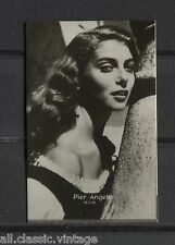 Pier Angeli Vintage Movie Film Star Trading Photo Card Excellent-Mint