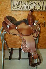 "13"" GW CRATE BARREL SADDLE FREE SHIP LIFETIME WARRANTY CUSTOM MADE IN ALABAMA"