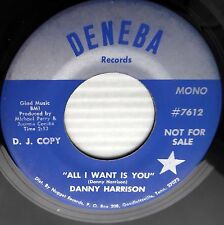 DANNY HARRISON All I want is you Club of lonely hearts TEEN country 45 E6140