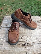 Timberland Leather Chukka Low Boot Hiking Casual Trail Shoe Mens 9.5 M #81039