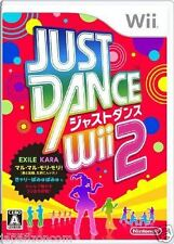 Used Wii Just Dance Wii 2 JAPAN JP JAPANESE JAPONAIS IMPORT