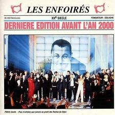 27475 //LES ENFOIRES DERNIERE EDITION AVANT L'AN 2000  CD EN TBE