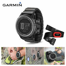 Garmin fenix 3 Sapphire GPS Watch Heart Rate Monitor Cycling Bike HRM Running US