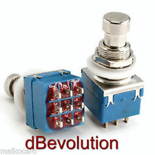 3PDT foot stomp interruttore pedale piede switch TRUE BYPASS 3 PDT pedal