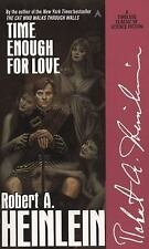 Time Enough for Love : The Lives of Lazarus Long by Robert A. Heinlein (1987,...
