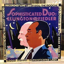 NM LP~DUKE ELLINGTON~ARTHUR FIEDLER & The BOSTON POPS~Sophisticated Duo~[1981/66