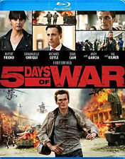 5 DAYS OF WAR - BLU RAY - Region A - Sealed