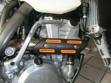 Krümmerschutz orange für KTM SX-F EXC 530 500 450 350 250 Auspuff Hitzeschutz