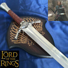 Lord of the Rings Sword of Boromir Stainless Steel Blade & Wooden Plaque