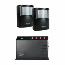 2 Sensor Wireless Motion Alert Alarm Security System Outdoor Home Patio Driveway