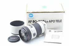MINOLTA HIGH SPEED AF APO 80-200mm F/2.8 W/Box From Japan!! 79798