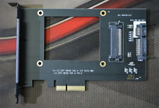 JZLL U.2 PCIe(SFF-8639) to PCI-E X4 3.0 Adapter U.2 NVMe SSD PCIe Card Intel 750