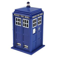 *NEW* Doctor Dr Who TARDIS 4-Port USB Hub PC / Mac Series 11