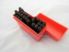 A to Z Heavy duty letter punch stamp set 4mm NEW BOXED Alphabet