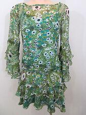 Diane Von Furstenberg Top Size 2 AUS/UK6-8 - 100% Silk  *