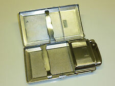 "MOSDA ""STREAMLINE"" LIGHTER CIGARETTE CASE - PATENT 27165/49 - 1955 - ENGLAND"