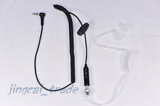 Newest Style! Acoustic Tube Earpiece PTT for Yaesu Vertex Radio VX-160 FT-60R