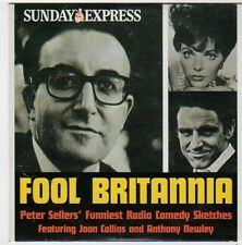 (FI530) Fool Britannia, Peter Sellers sketches - 2005 Sunday Express CD