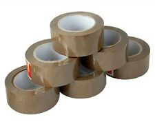 "36 Rolls 1.8 Mil 2""  100 Yards Carton Sealing Shipping Tape Tan Mail Packaging"