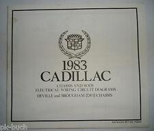 Elektrischer Schaltplan / Wiring Diagram Cadillac DeVille Brougham DFI 1983