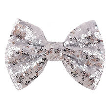 1x Girl Hair Clip Sequins Bow Girls Hairpins Party Lovely Hair Accessories Nice