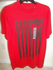 NEW MENS INK INC Red Surf Flag Tee Shirt  SIZE M