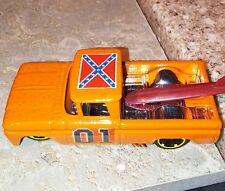 HOT WHEELS 62 chevy truck  Dukes of Hazzard General Lee custom super cool paint
