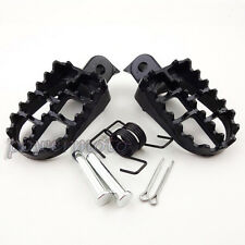 Aluminum Footrest Foot Pegs For Yamaha PW50 PW80 TW200 PW 50 80 Pit Dirt Bike