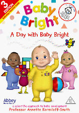BABY BRIGHT - A DAY WITH  - DVD - REGION 2 UK