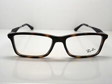 NEW Authentic Ray Ban RB 7023 2012 Havana Tortoise 55mm RX Eyeglasses