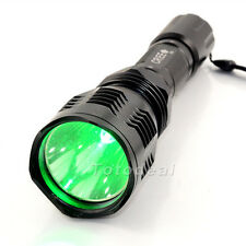 UniqueFire HS-802 Cree XRE 1 Mode Long Green light hunting Led Flashlamp UK Ship