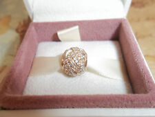 Genuine Authentic Pandora 14ct Gold Sparkling Love Knot Charm 750991CZ G585 ALE