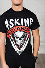 Official Asking Alexandria Skull Shield Unisex T-Shirt Life Gone Wild Reckless