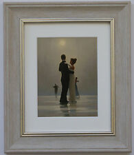 DANCE me to the end of Love by Jack Vettriano incorniciato & Grigio Stampa artistica montata