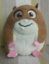 "Rhino the Hamster from Bolt plush soft toy by Disney brown 5"" round"