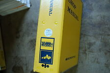 KOMATSU WA800-1 2Front End Wheel Loader Service Repair Manual book shop 1989