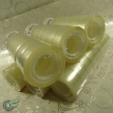 48 Packing Stationery Sticky Dispenser Tape Rolls Clear