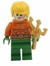 Lego Super Heroes 76027 Minifig - Aquaman with Trident (New)