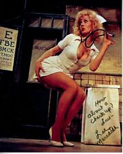 LEE MEREDITH Signed Autographed THE SUNSHINE BOYS SEXY NURSE Photo GREAT CONTENT