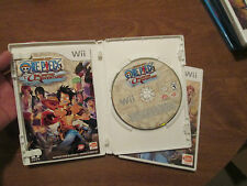 One Piece: Unlimited Adventure NINTENDO WII  RARE COMPLETE WORK PERFECTLY