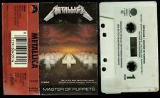 Metallica Master Of Puppets RCA Record Club USA Cassette Tape VERY RARE !